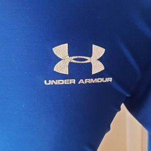 Under Armour Mens Large Blue Fitted Workout Shirt
